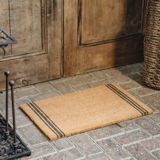 Small Triple Stripe Doormat
