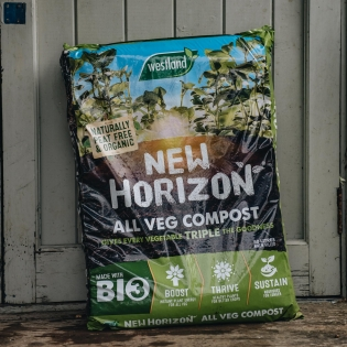 New Horizon Peat Free & Organic Veg Compost 50L