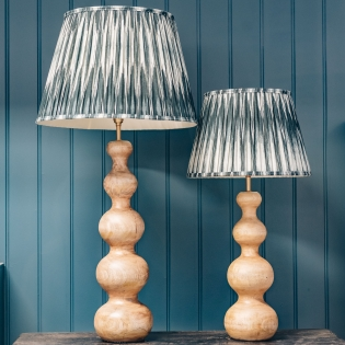 Wobster Table Lamps Natural