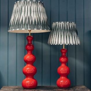 Wobster Table Lamps Red - Small and Large