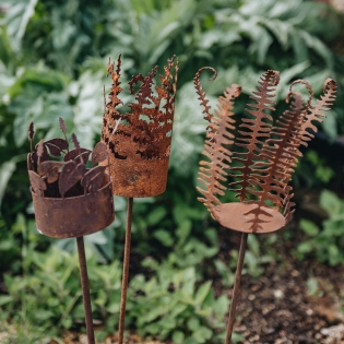 Decorative Garden Candle Holders