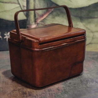 Leather Cool Box