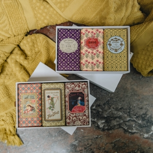 Wax Sealed Soap Gift Boxes