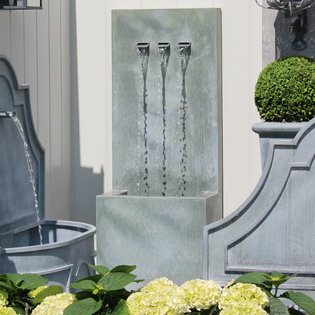 Veneto Tall Zinc Water Feature