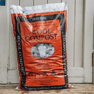 Peat Free Wool Potting Compost