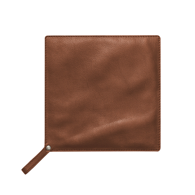 Leather Pot  Holder – Tan Brown
