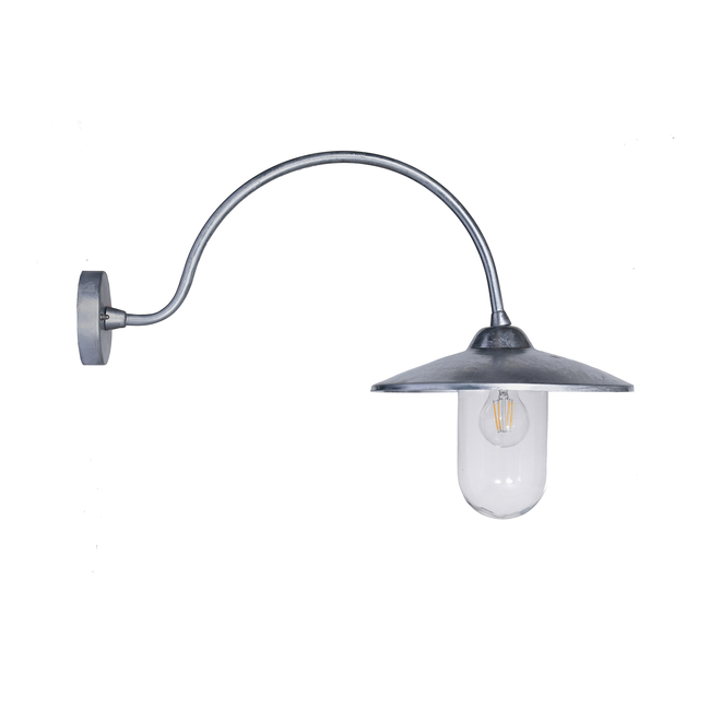 St Ives Arched Swan Neck Wall Light