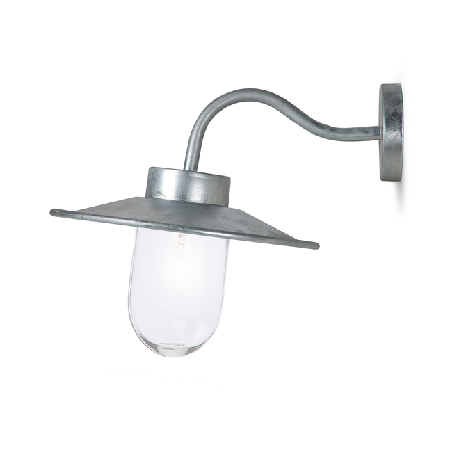 St Ives Swan Neck Wall Light