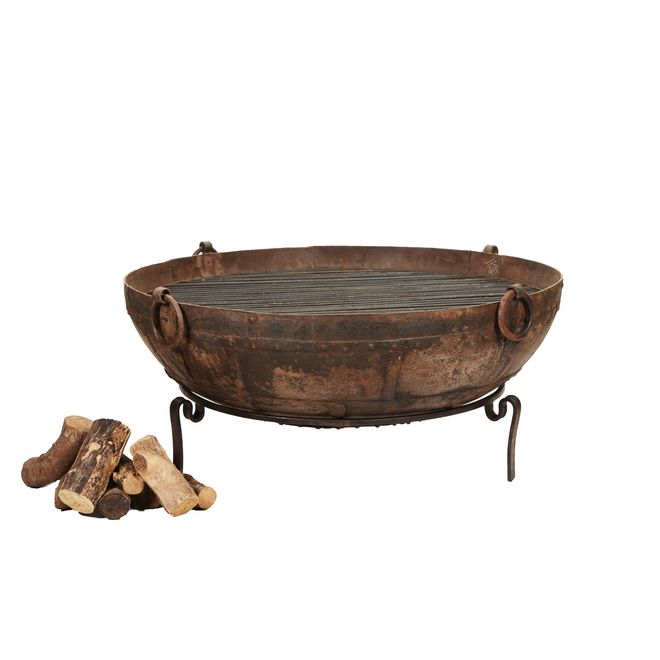 Original Indian Kadai with Tudor Stand