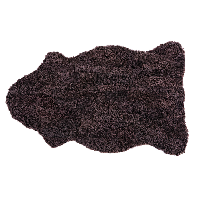 Gry Patchwork Sheepskin Rug - Moro Brown