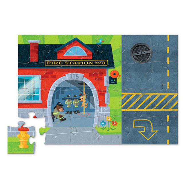Puzzle and Play - Fire Station