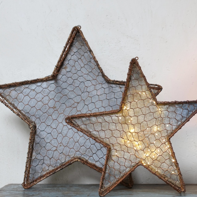 Chatari Mesh Star Large one only