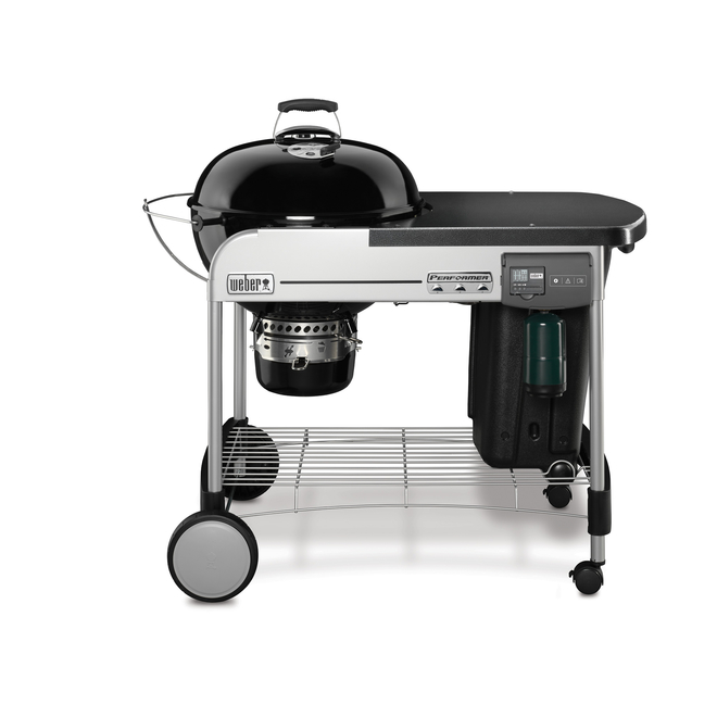 Weber Performer Deluxe Charcoal Barbecue with Gas Ignition