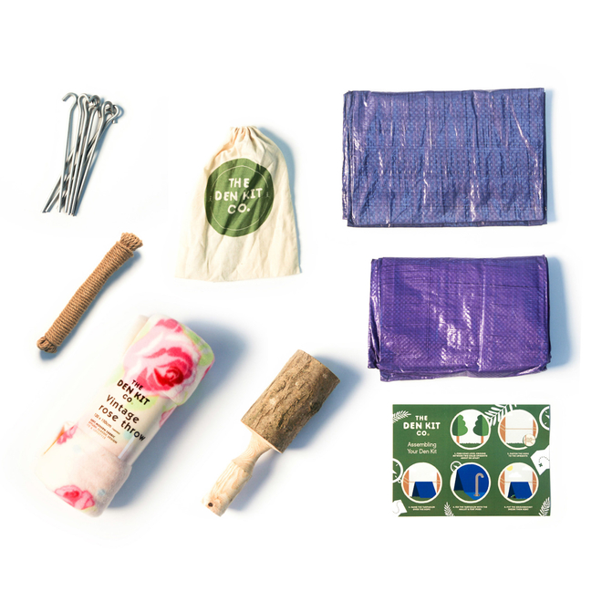 Cottage Garden Den Kit - Comonents