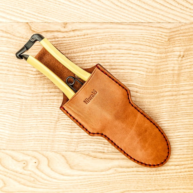 Japanese GR Secateurs in Single Leather Holster (sold separately)