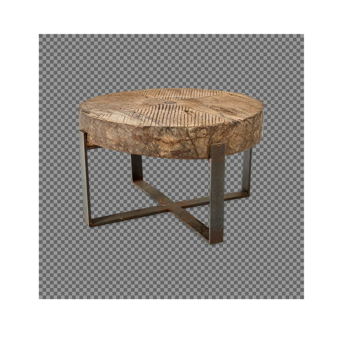 Chakala Wooden Coffee Table