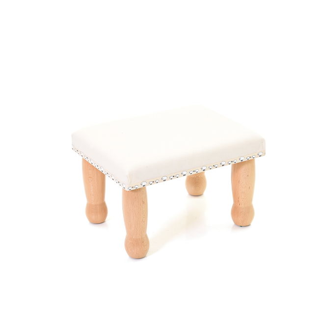 Angharad Sheepskin Footstool without cover