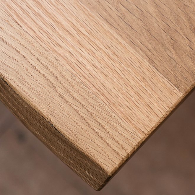 Delta Lacquered Oak Dining Table 220cm
