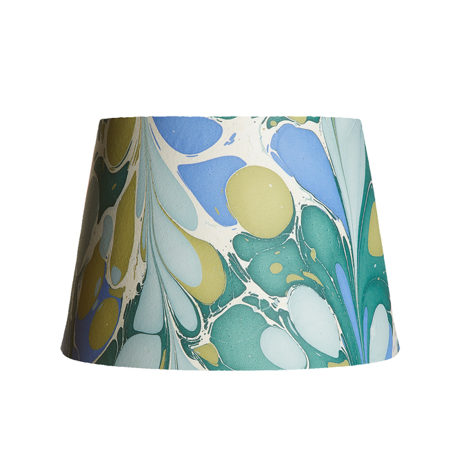 Pooky Straight Empire Marbled Shade Green/Blue Roya - 30cm