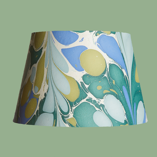 Pooky Straight Empire Marbled Shade Green/Blue Roya - 35cm
