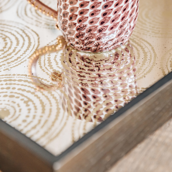 Gold Multi Beads Tray