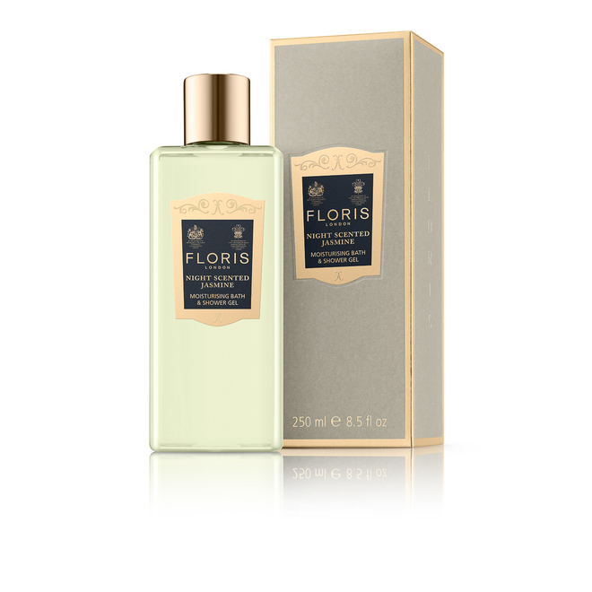 Floris Bath and Shower Gel - Night Scented Jasmin