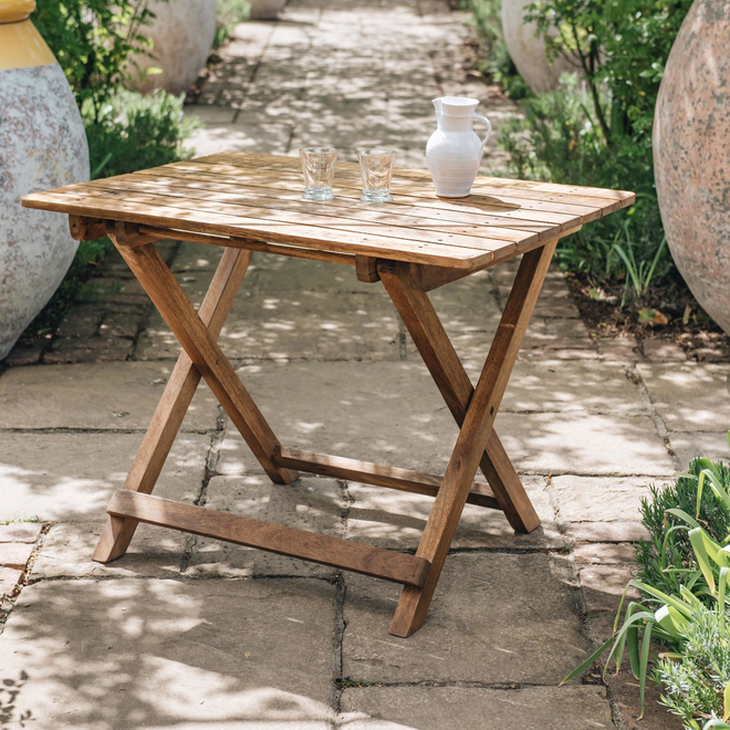 Mango Wood Café 4 Seater Table