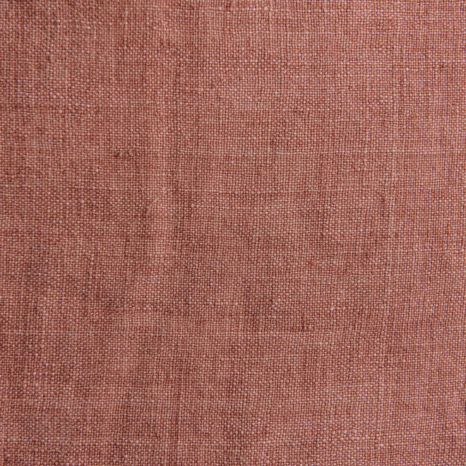Stone Washed Linen Cushions Terracotta