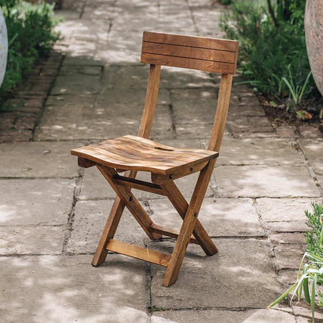 Mango Wood Café Chair