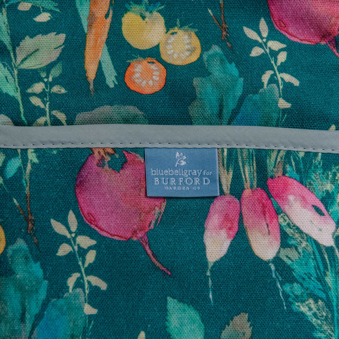 Bluebellgray for Burford Double Oven Glove Vegetable Patch Chard