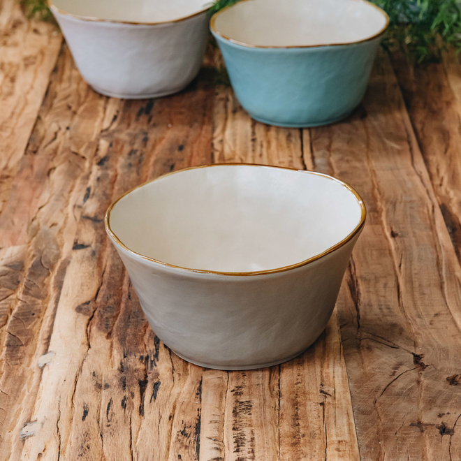 Mediterranean Soup Bowl - Grey