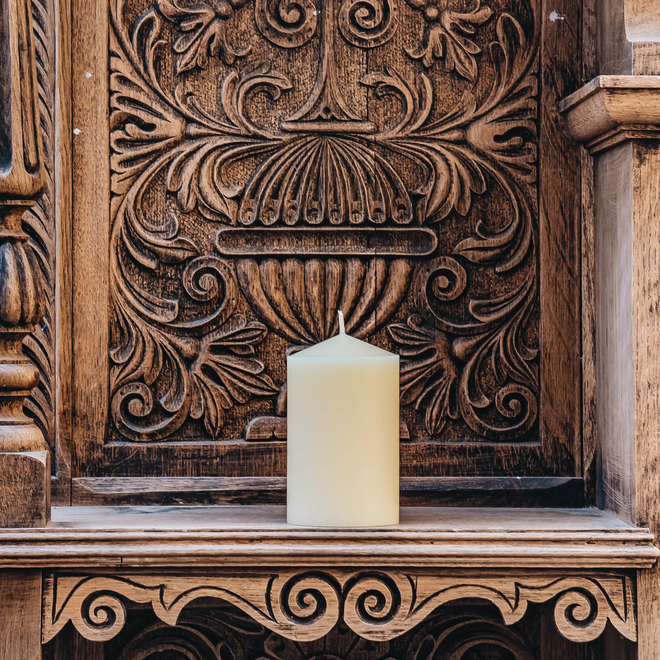 Burford's Church Candle 3x5