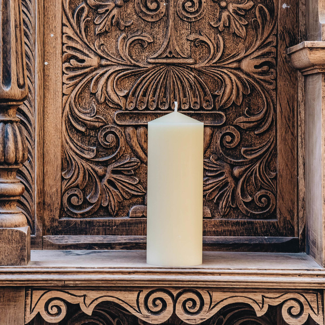 Burford's Church Candle 3x8