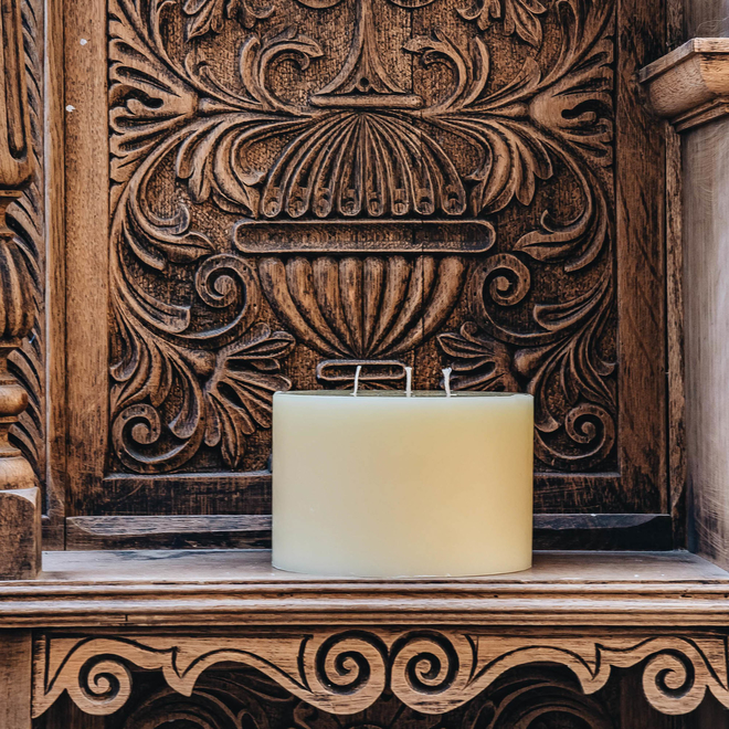 Burford's Church Candle 3-wick