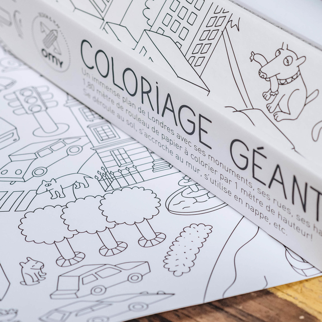 Extra Extra Large Colouring Posters