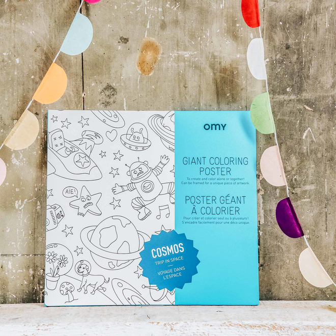 OMY Colouring Posters Cosmos