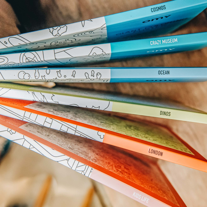 OMY Colouring Posters