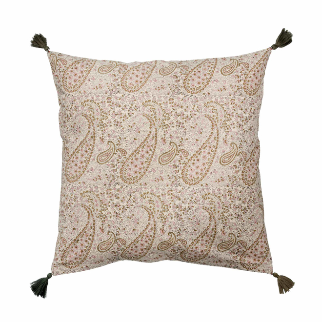 Paisley Blush Cushion