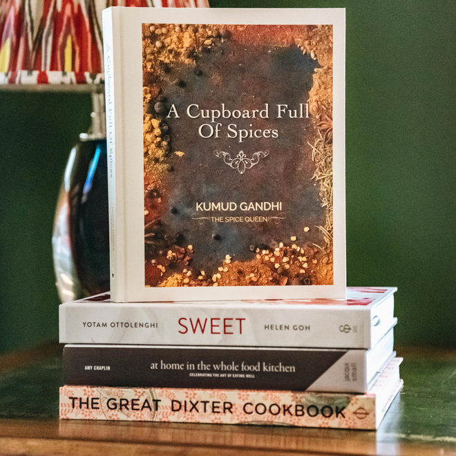A Cupboard Full of Spices by Kumud Gandhi