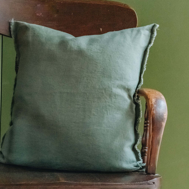 Sunshine Linen Cushion, Antique