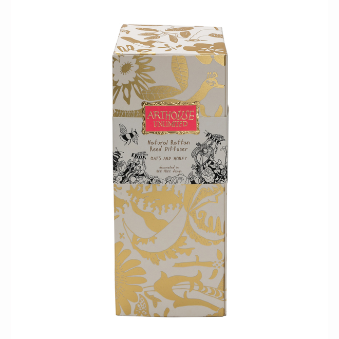 Arthouse Unlimited Bee Free Reed Diffuser