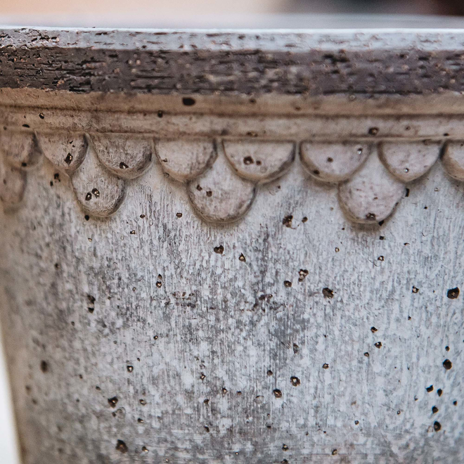 Grey Copenhagen Pot detail