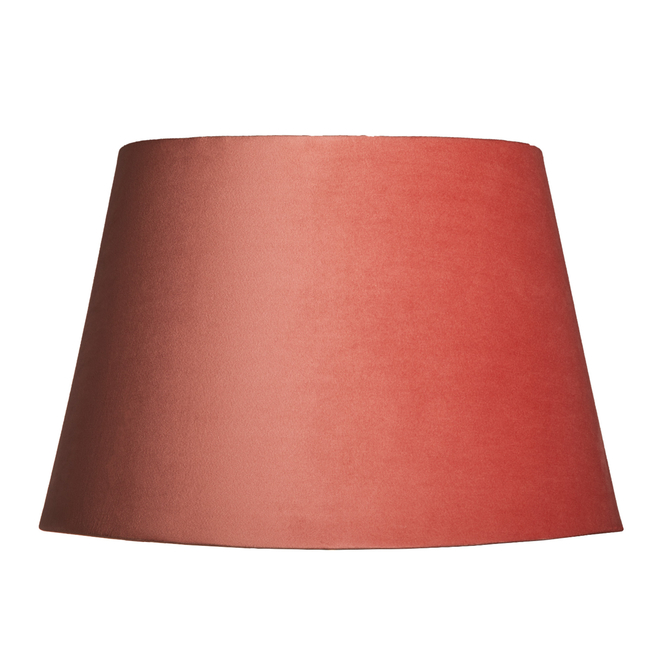 Pooky Straight Empire Lampshades in Posh Pink Velvet
