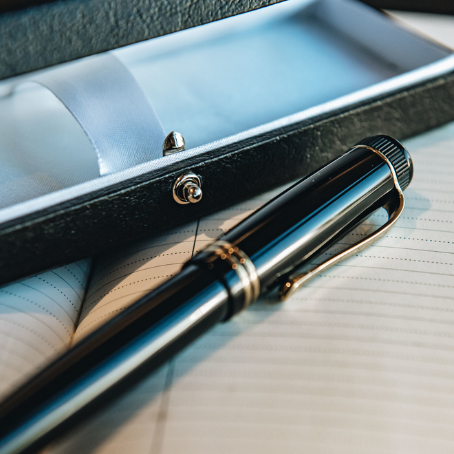 Kaweco Fountain Pen Gold, with presentation box