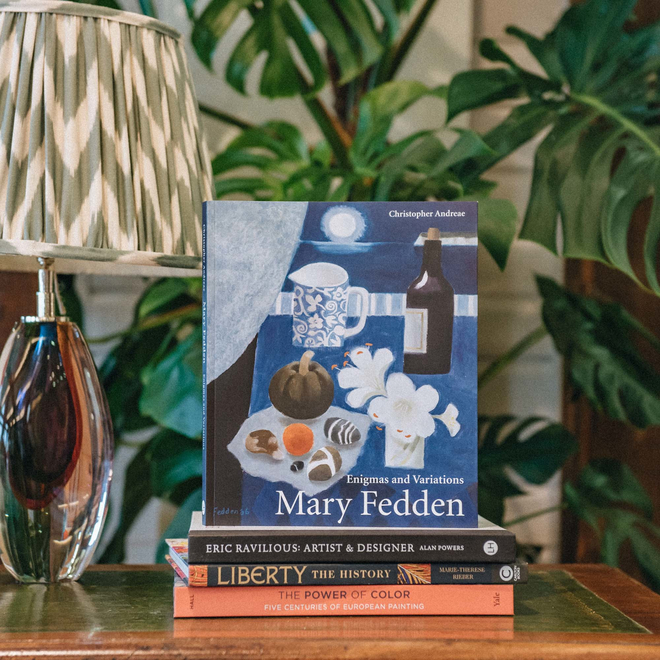 Mary Fedden by Christopher Andreae