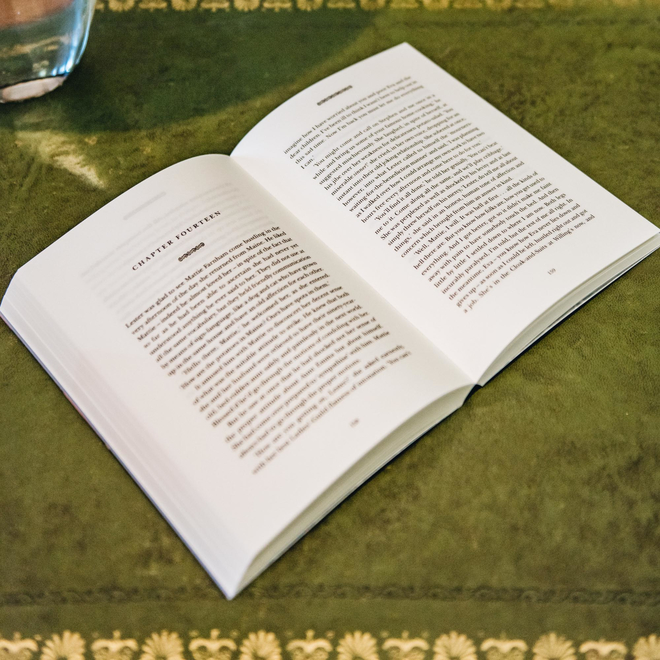 Sample of interior text