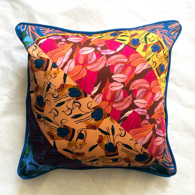 Eleni Malami Pelopia Cushion Multi Square