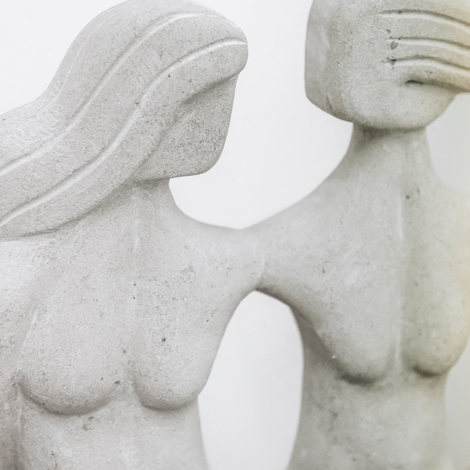 James Connolly: Three Graces detail