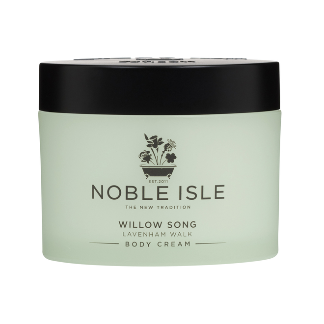 Noble Isle Body Cream Willow Song tub