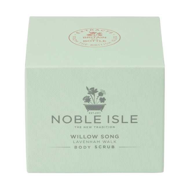 Noble Isle Willow Song Body Scrub box